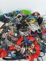4.75kg Costume Jewellery Mixed Job Lot Vintage Bundle Resell Craft Harvest Beads