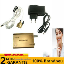 Dental Binoculaires Loupes LED Head light Lampe Headlight frontale dentaire DHL