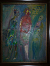 Porträts & Personen künstlerische Malerei Öl