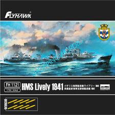 Flyhawk FH1121 HMS Lively 1941 bonus gun barrel 2019 NEW  1/700