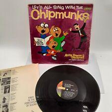 Alvin and the Chipmunks~1961 CHIPMUNKS Album Vinyl