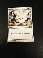 MTG MAGIC M12 DAY OF JUDGMENT (FRENCH JOUR DE CONDAMNATION) NM