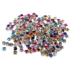 DIY Sew On Cut Glass Crystals Rhinestones Diamantes, Dress Decor Making