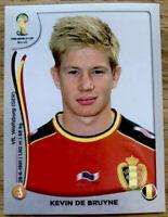 Kevin De Bruyne ROOKIE PLATINUM Sticker MINT World Cup Brazil 2014 #575 Rare SP