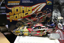 JOHN FORCE TRIBUTE TO AMERICAN SOLDIER, SIGNED, 2006 FUNNY CAR 1/24,  1 OF 300