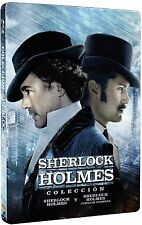 SHERLOCK HOLMES COLLECTION - EDIZIONE STEELBOOK (2 BLU-RAY)