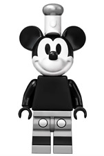 Lego Mickey Mouse 21317 Grayscale, Steamboat Willie Ideas (CUUSOO) Minifigure
