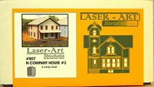 NIB N Branchline Laser-Art #807 Company House #3 Kit