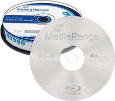 20 MediaRange Blu-ray BD-R 25Gb 4x Rohlinge Spindel
