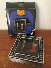 The Nightmare Before Christmas Santa Jack Pewter Jewelry Trinket Box - Neca 2003
