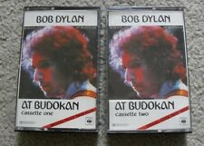 Bob Dylan At the Budokan Live Import 2 Casette Tapes Rock Folk Country Pop