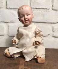 """Antique Gebruder Heubach Original German Bisque Doll - 9"""""""