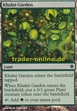 2x Khalni Garden (Khalni-Garten) Commander 2013 Magic
