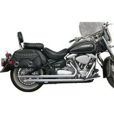 ESCAPE YAMAHA XV1600/1700 ROAD STAR MAC DRAG PIPES SLASH-CUT 99-