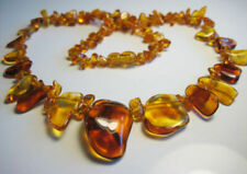 Genuine Beautiful Baltic Amber Necklace  !!!