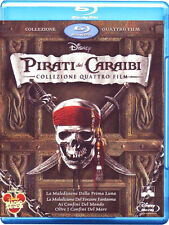 PIRATI DEI CARAIBI - LA COLLEZIONE COMPLETA 01 - 04 (5 BLU-RAY + DISCO BONUS)