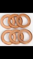 6 Mercedes-Benz Oil Change Drain Plug Crush Washers OEM crush washer 095-010.1