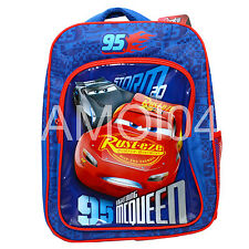 Disney Cars Lightning McQueen Boys BackPack School Bag *New