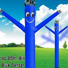 (Two Day Shipping) MOUNTO 20FT blue Air Puppet Dancer Wind Flying Dancer