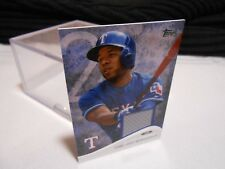 2014 TOPPS Mini ELVIS ANDRUS Texas RANGERS Game Used Jersey Patch