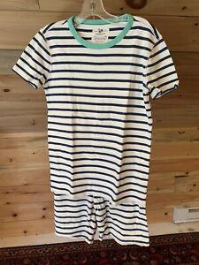 Crewcuts NAVY/WHITE STRIPE Short Pajamas Set Kids Youth Boys size 10