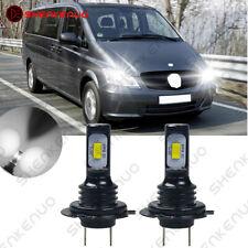 Für MERCEDES-BENZ Vito Bus/Van W639 H7 Car Scheinwerfer Lampen Birnen Weiß 6000K