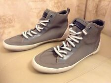 New👥Kenneth Cole👥UK 7 ( US 7.5, 40.5 EU)Grey Lace Up Trainers / Boots Shoes