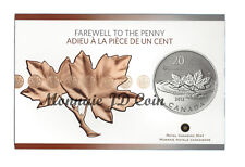 """Canada 2012 20$ For 20$ Series """"Farewell To The Penny"""" - Fine Silver Tax Exempt"""