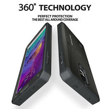 For Samsung Galaxy Note 4 NEW Water Resistant Shockproof Armor Case Stand Cover