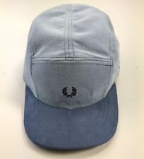 Vintage Fred Perry 5 Panel Cap Handmade/Upcycled From Fred Perry Polo Shirt Blue