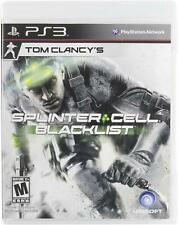 NEW Tom Clancy's Splinter Cell: Blacklist for Sony PlayStation 3 PS3 Video Game