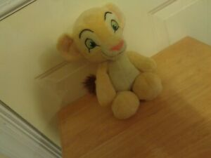 JUST PLAY DISNEY THE LION KING YOUNG BABY SIMBA LION CUB PLUSH DOLL FIGURE
