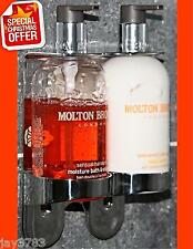 Molton Brown 300 Ml Doble Cromo Soporte Mano Dispensador de montaje en pared arco Butler