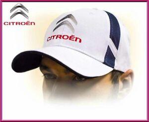 CITROEN unisex Baseball Cap Hat. 100% cotton. White color. Adjustable size!!!