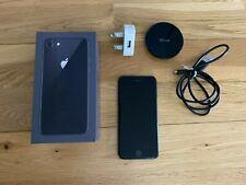 Apple IPhone 8, Unlocked, 64GB, Jet Black - Excellent Condition