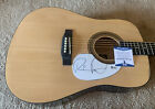 Russell Dickerson Signed Autographed Acoustic Guitar BAS Beckett Certified for sale