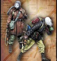 1/35 Resin Zombie War Stalkers 2 Figures unpainted unassembled BL750