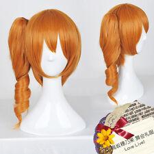 Love Live! LoveLive! Honoka Kousaka Orange Clip on Ponytail Cosplay Wig E112