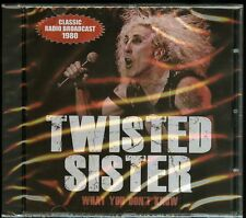 Twisted Sister What You Don't Know CD new
