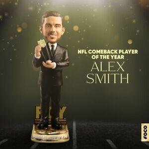 "Washington Redskins ALEX SMITH ""Comeback of the Year"" NFL Honor Bobblehead #/111"