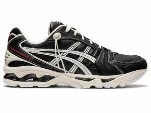 Asics Men's GEL-KAYANO 14 Shoes NEW AUTHENTIC Black/Cream 1201A179 001
