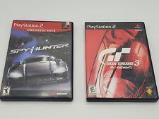New ListingBundle! Gran Turismo 3 A-spec & Spy Hunter - PlayStation 2 - 2 games 1 low price