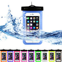 3 Pack Waterproof Floating Cell Phone Pouch Dry Bag Case Cover For Phone Samsung