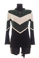 SANDRO Paris Women's long sleeved Top Sweater Size 3