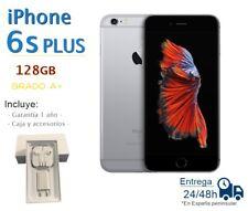 IPHONE 6S PLUS 128GB NEGRO REACONDICIONADO LIBRE / GRADO A+/ CAJA Y ACCESORIOS
