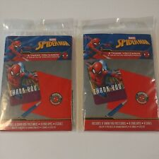 SPIDER-MAN Webbed Wonder THANK YOU POSTCARDS(8) ~ Birthday Party Lot of 2