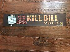 KILL BILL VOLUME 2 5X25 MYLAR DS MOVIE POSTER