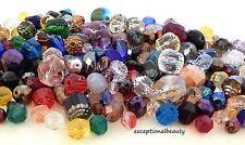 1 Pound Lb Preciosa Pressed Fire Polished Czech Glass Assorted Art Mix Beads