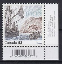 Canada 2008 400 anniversario fondazione di Quebec MHN