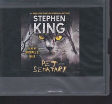 PET SEMATARY by  STEPHEN KING ~UNABRIDGED CD AUDIOBOOK
